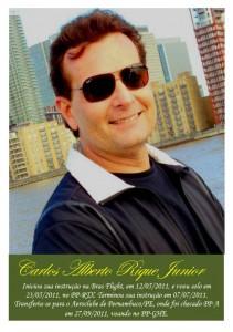 Carlos Alberto RIQUE Junior - Foto de Mural